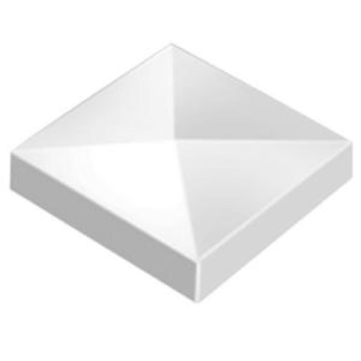 home depot vinyl pyramid