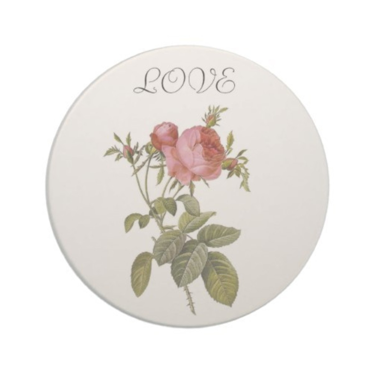 Romantic Art Drink Coaster at Zazzle.com