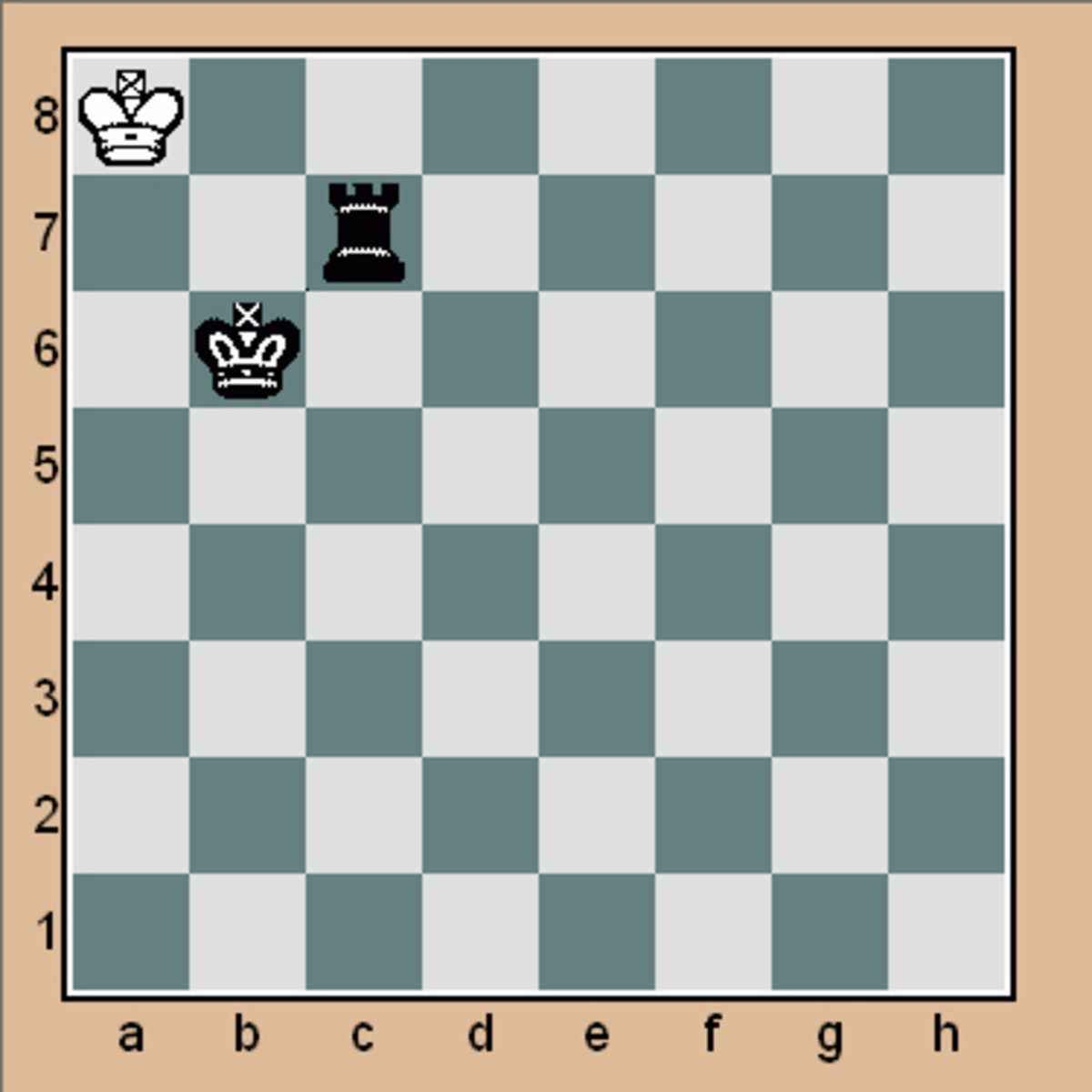 Mate in 1 chess puzzle (Click to enlarge)