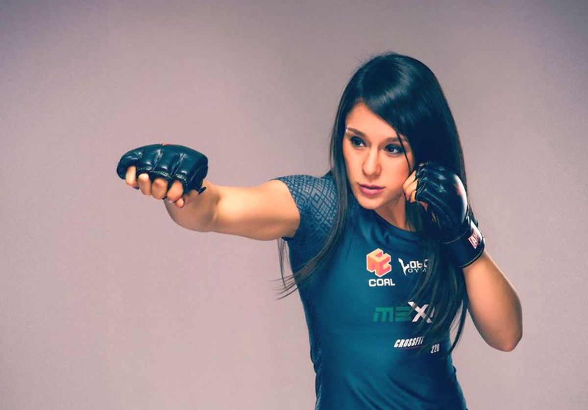 Female MMA Fighter Alexa Grasso