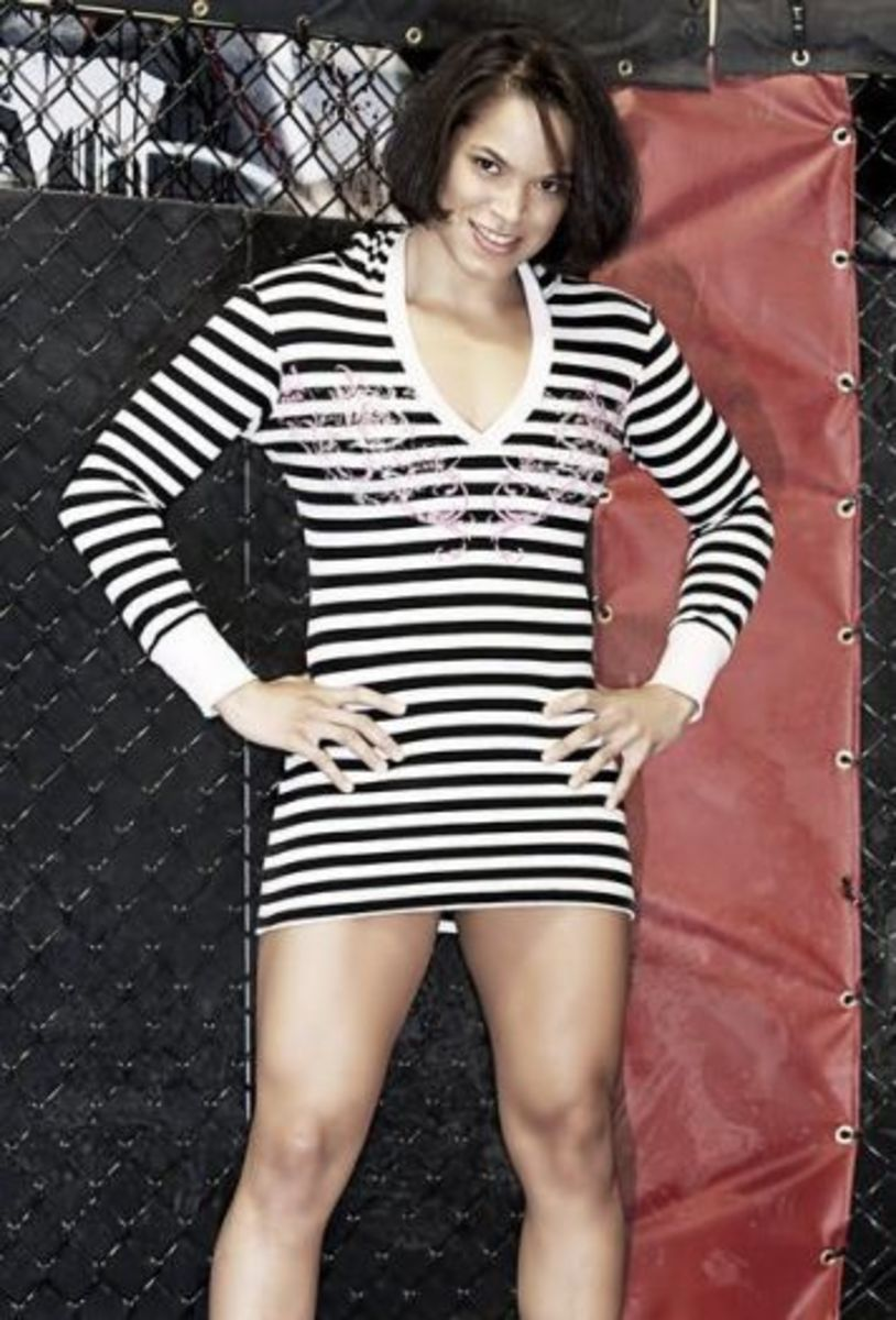 "Amanda ""Lioness of the Ring"" Nunes"