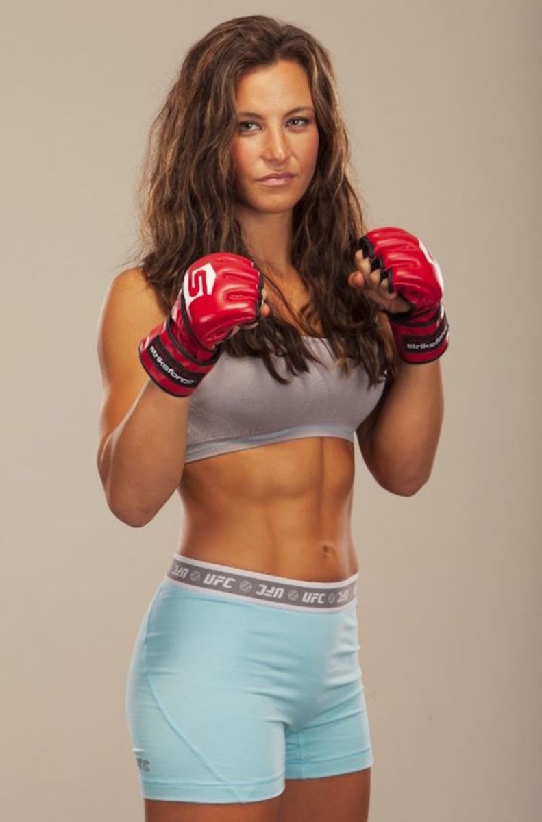 "MMA Fighters - Miesha ""Cupcake"" Tate"