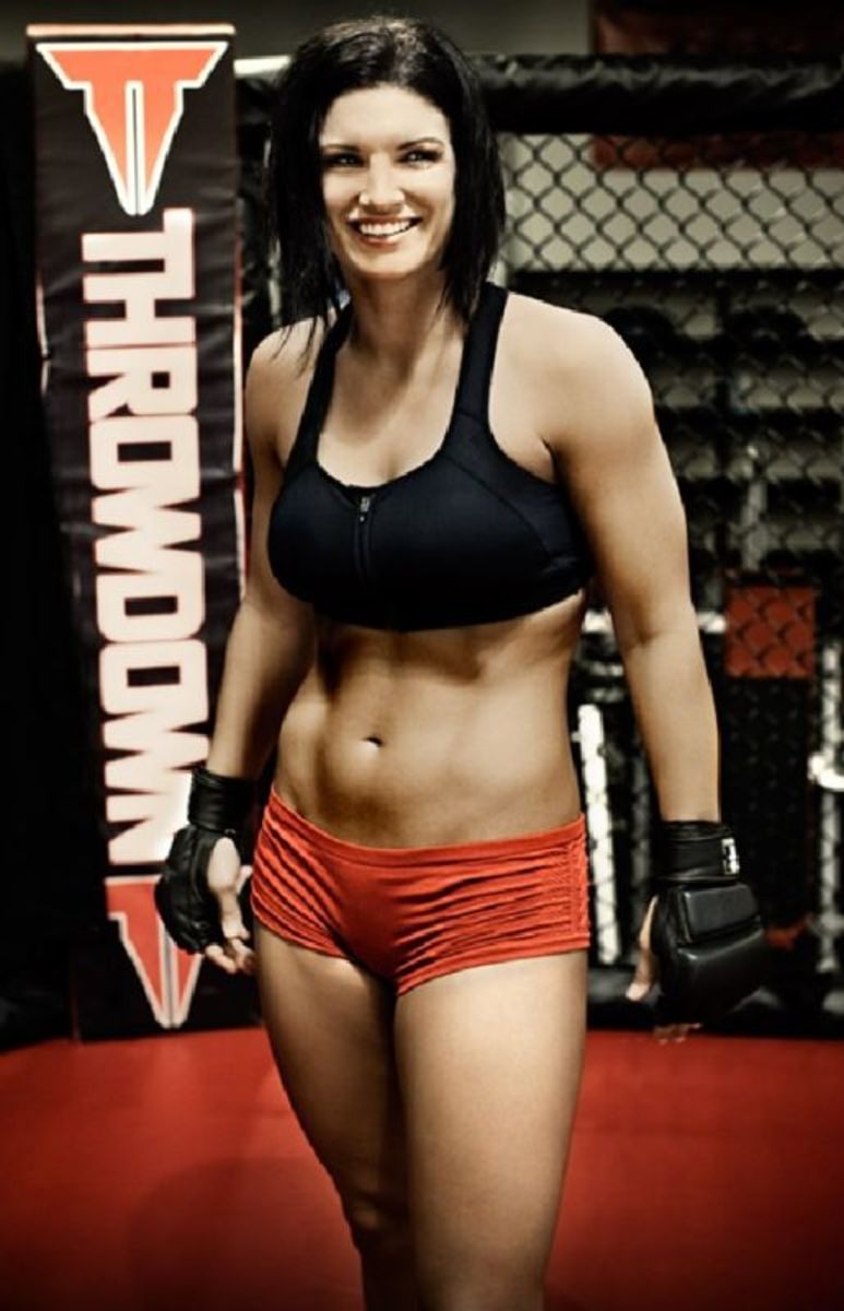 "Female MMA Fighter - Gina ""Conviction"" Carano"
