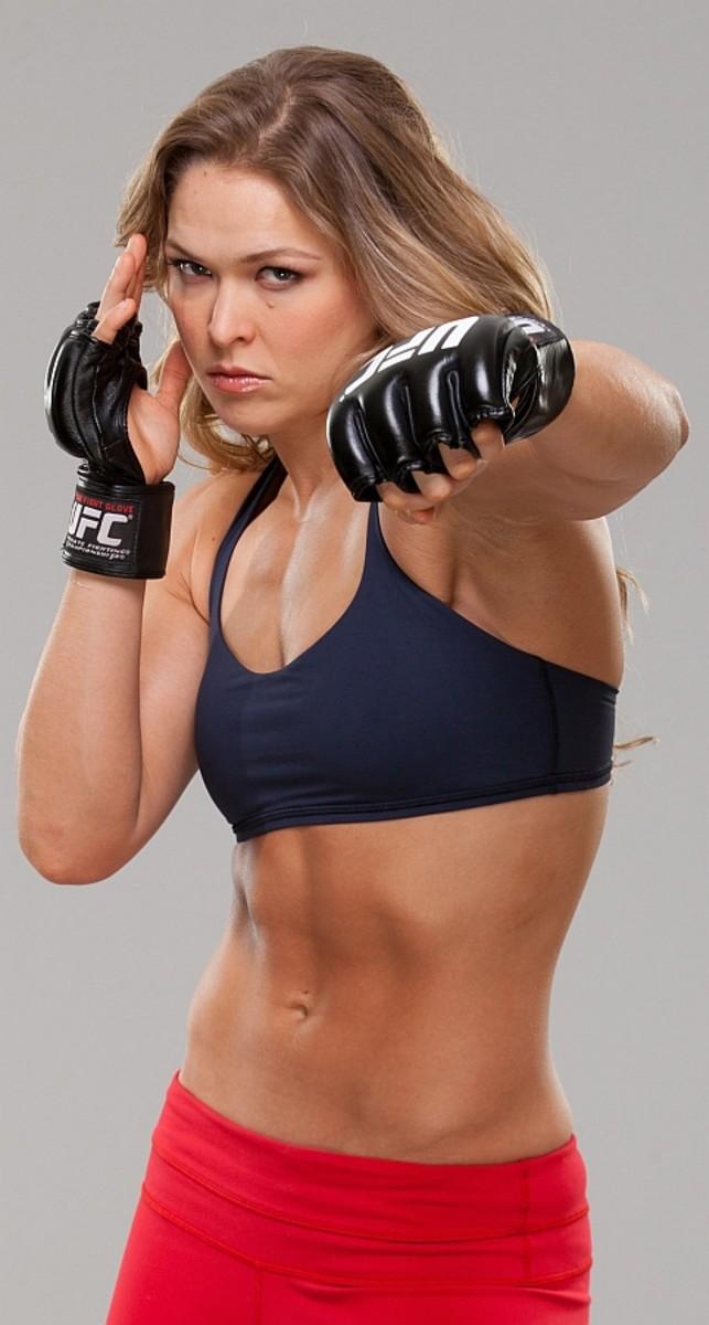 "Ronda ""Rowdy"" Rousey"