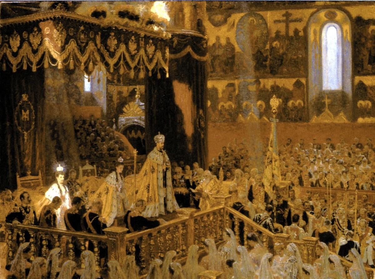 CORONATION OF CZAR NICHOLAS II