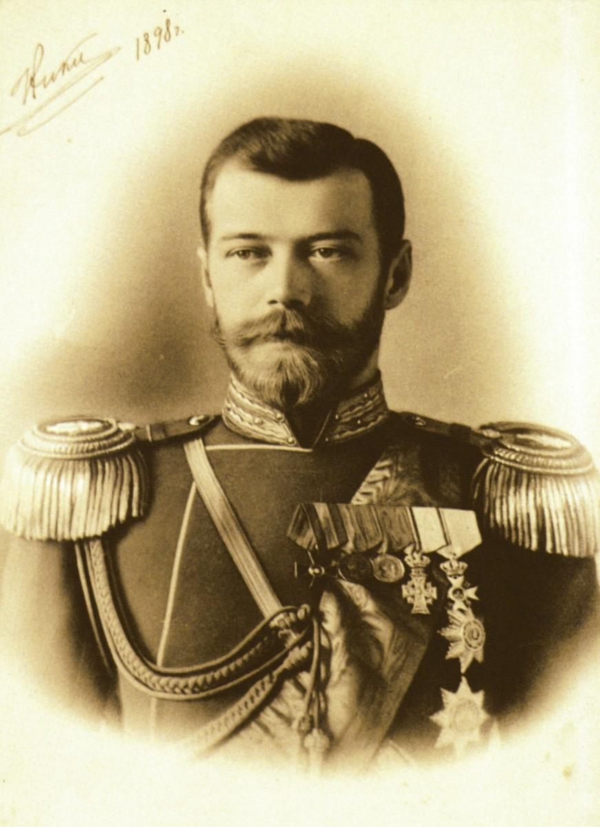 THE LAST TSAR OF RUSSIA NICHOLAS II