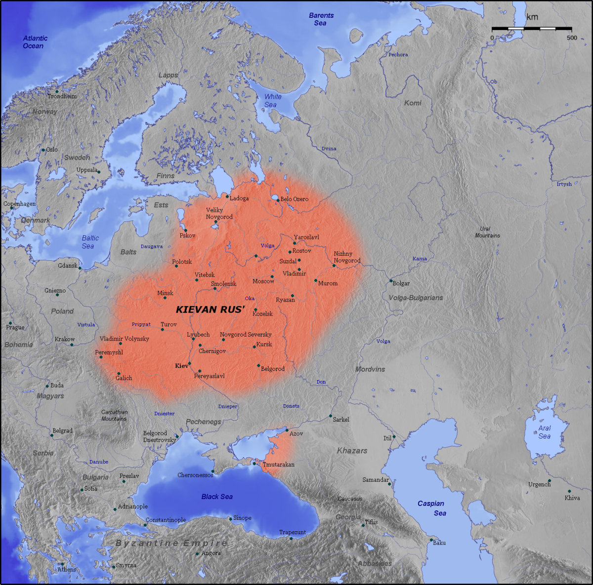 KIEVAN RUS 11TH CENTURY