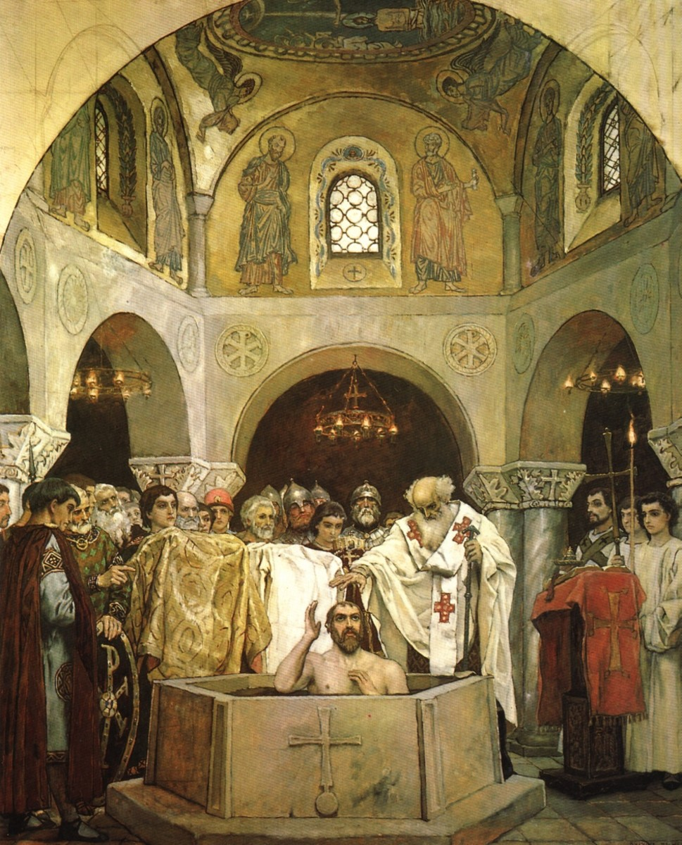 BAPTISM OF VLADIMIR THE GREAT