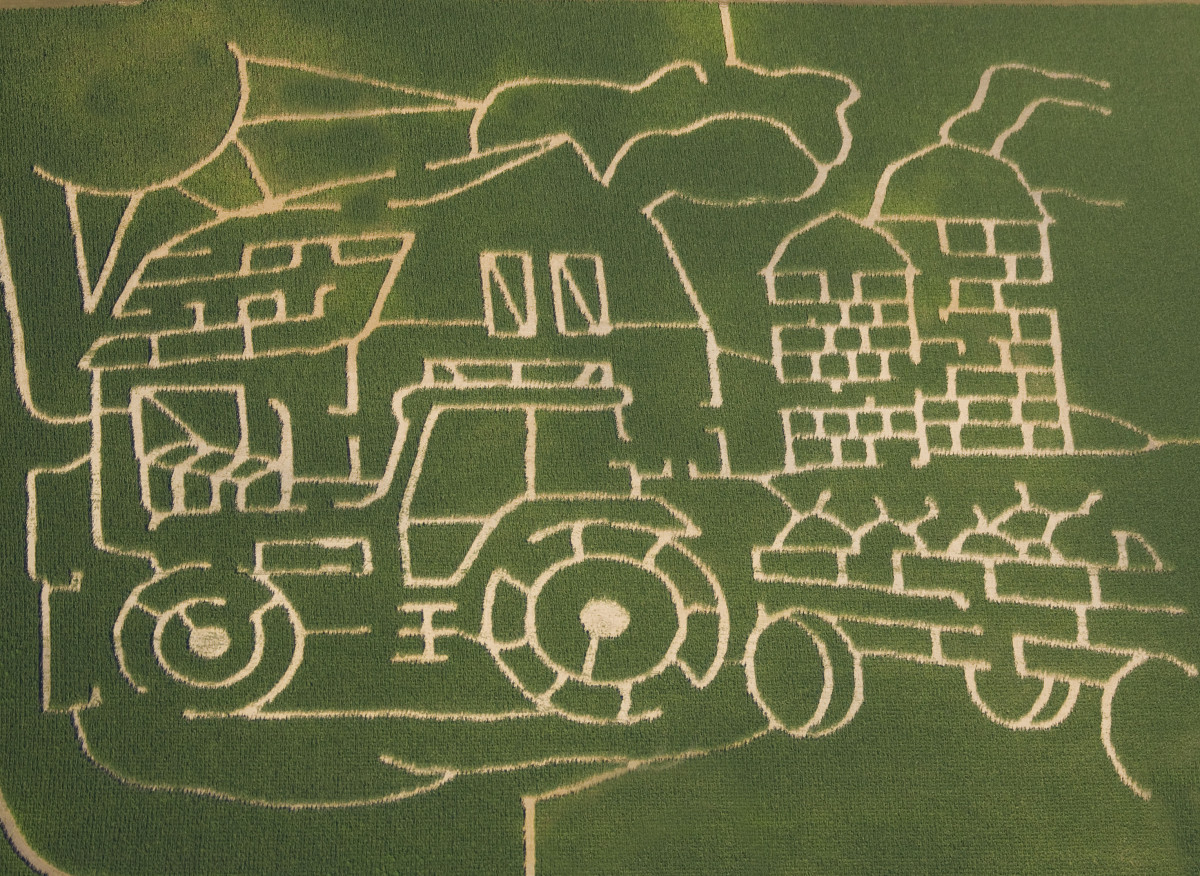 Meadow View Corn Maze in Illinois for 2010-Opens Aug 6th(Written permission granted to publish photo)