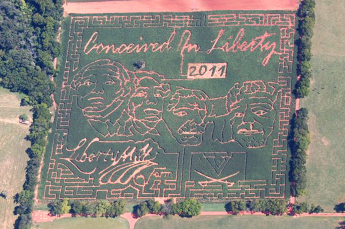Liberty Mills Farm - Virginia's Largest Corn Maze