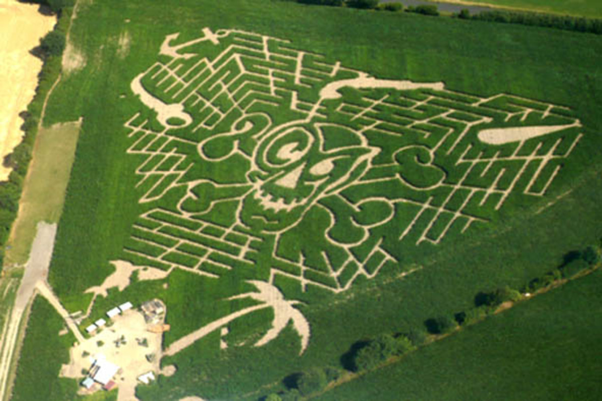 An Awesome Corn Maze-Locate one near you!