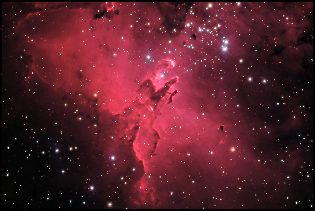 Eagle Nebula, Hubble