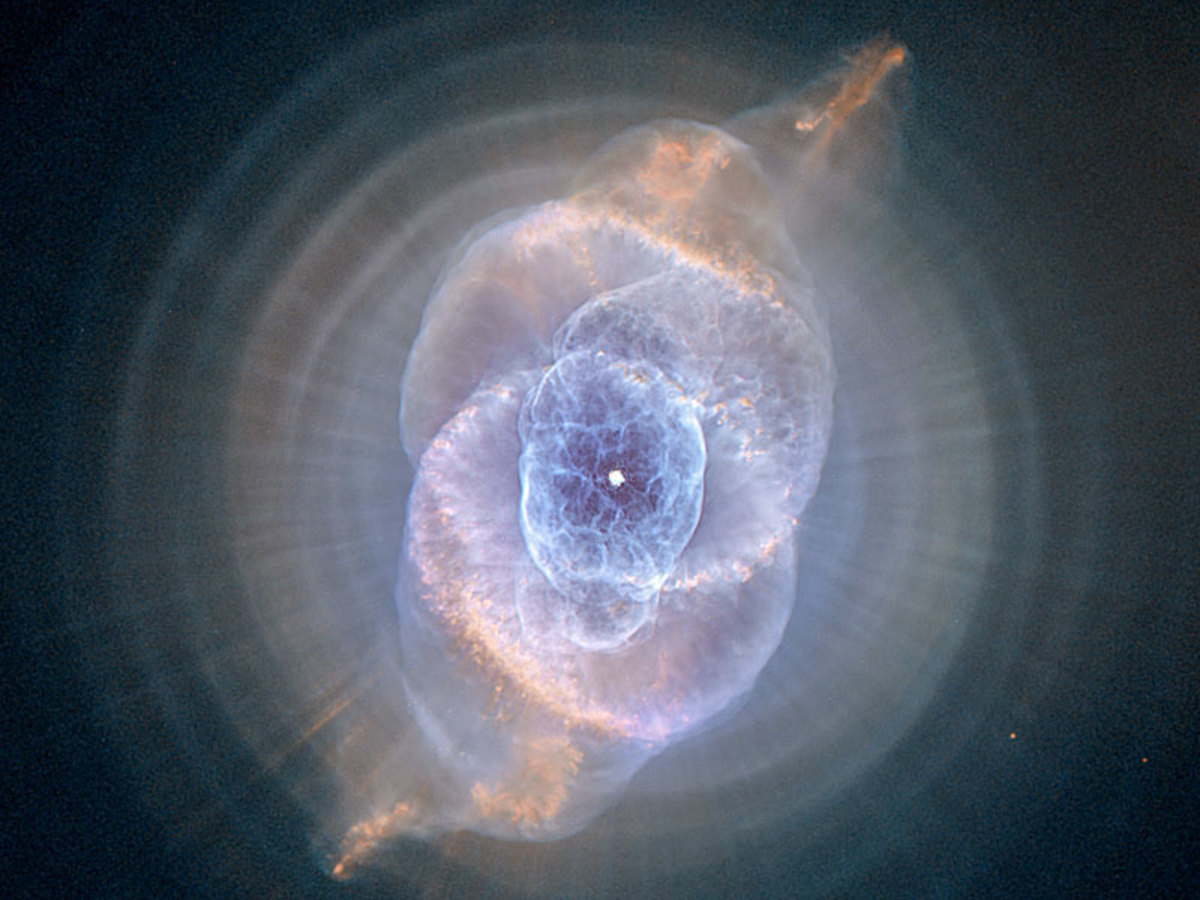 Cats Eye Nebula, NASA, Hubble telescope