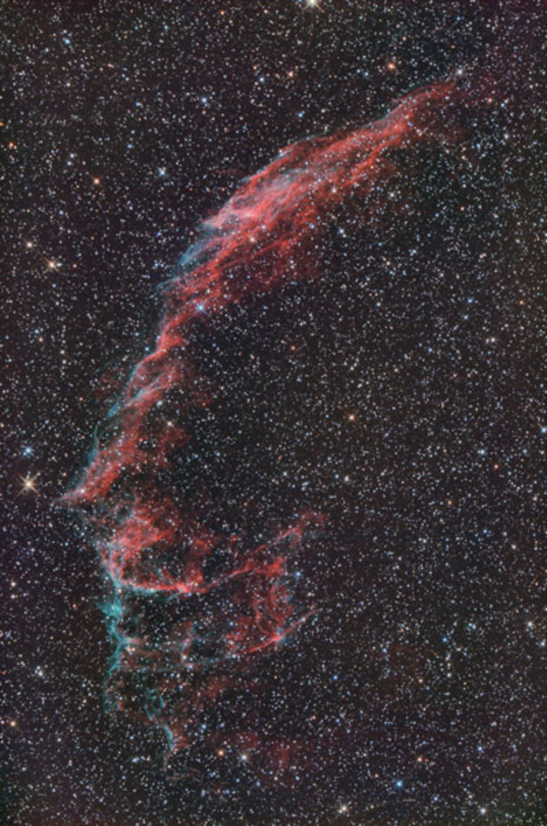 Veil Nebula, NASA Hubble