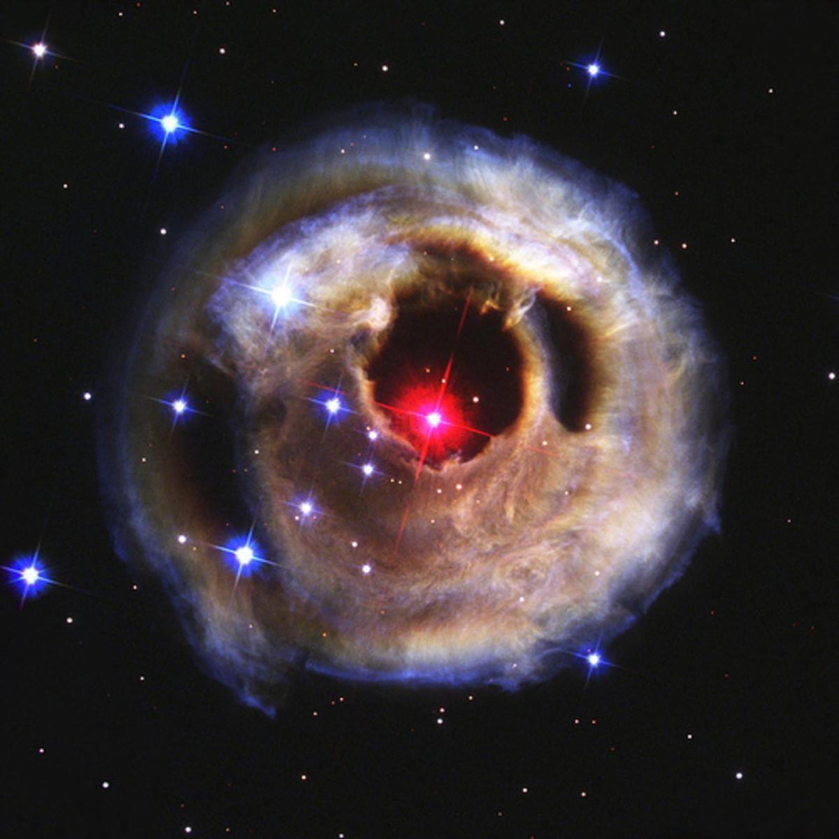 Starry Night Nebula, NASA, Hubble
