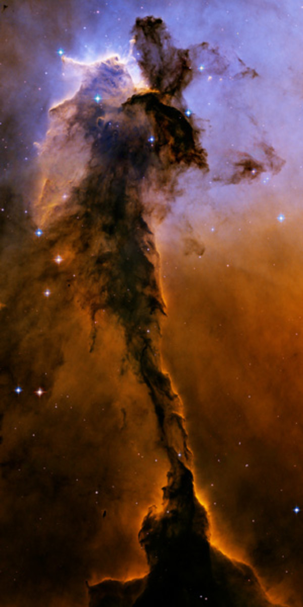 Eagle Nebula, Hubble, NASA