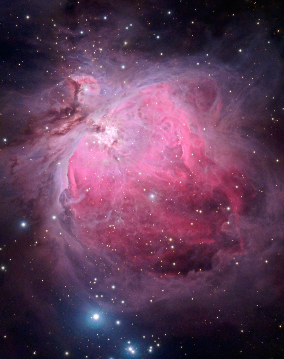 Orion Nebula, NASA; HUBBLE
