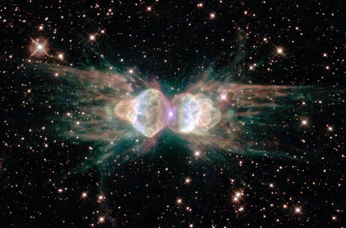 Ant nebula, NASA, Hubble