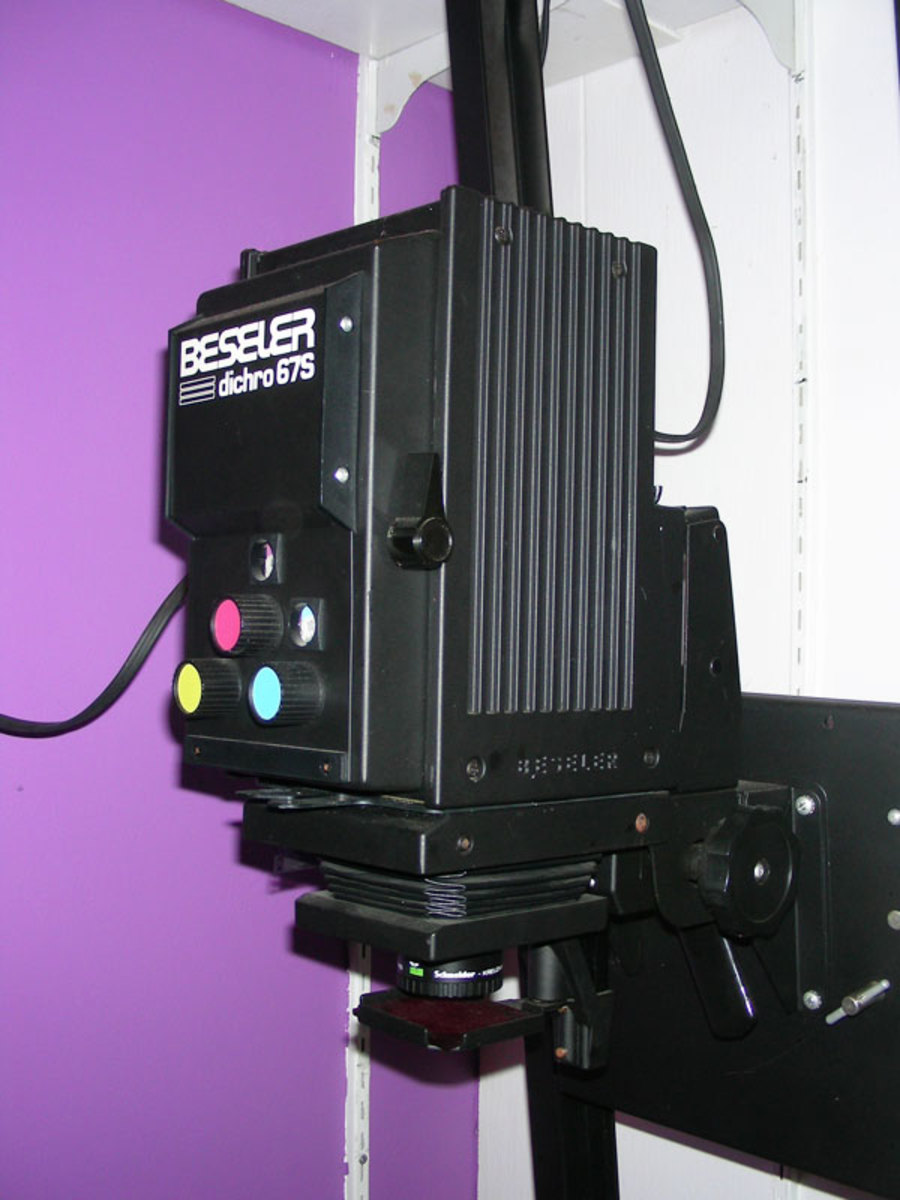 Enlarger will be on top of your list :)
