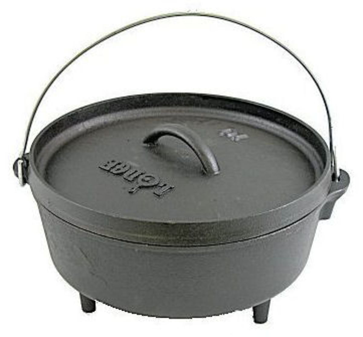 The Lodge 8 qt. Cast Iron Dutch Oven