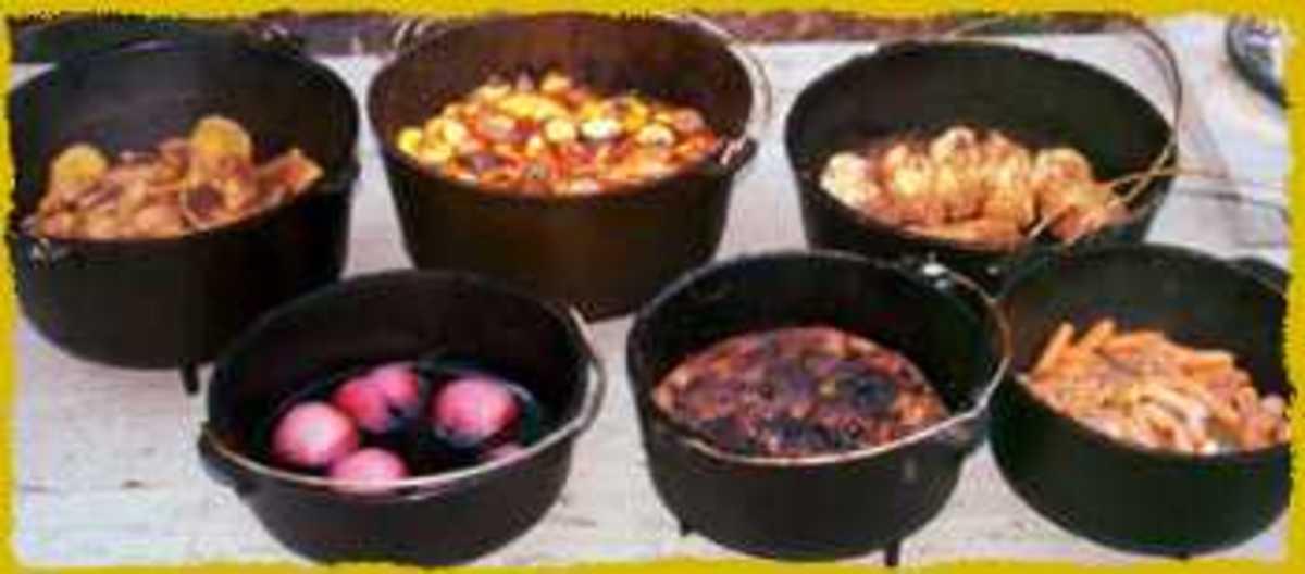 Dutch oven campfire meals