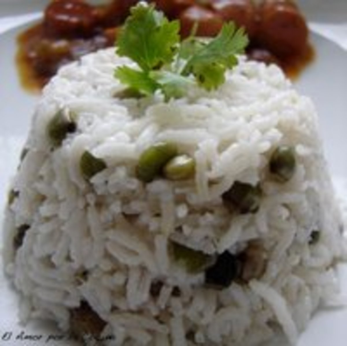Arroz Con Guandu - Rice with Guandu