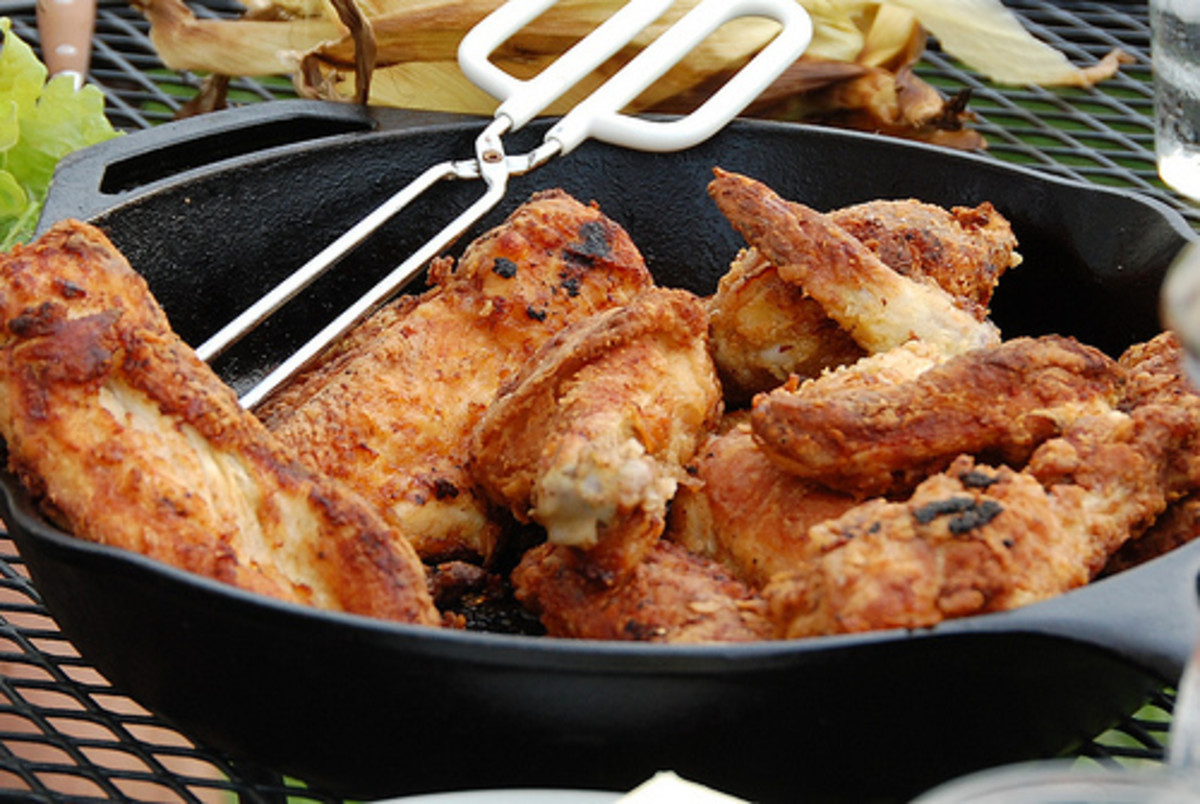 Delicious Skillet Fried Chicken