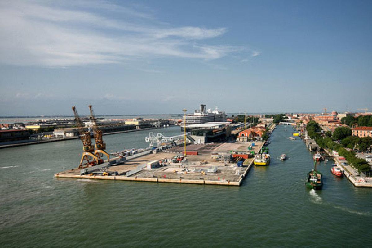 Maritima Basin, Venice Cruise Terminal