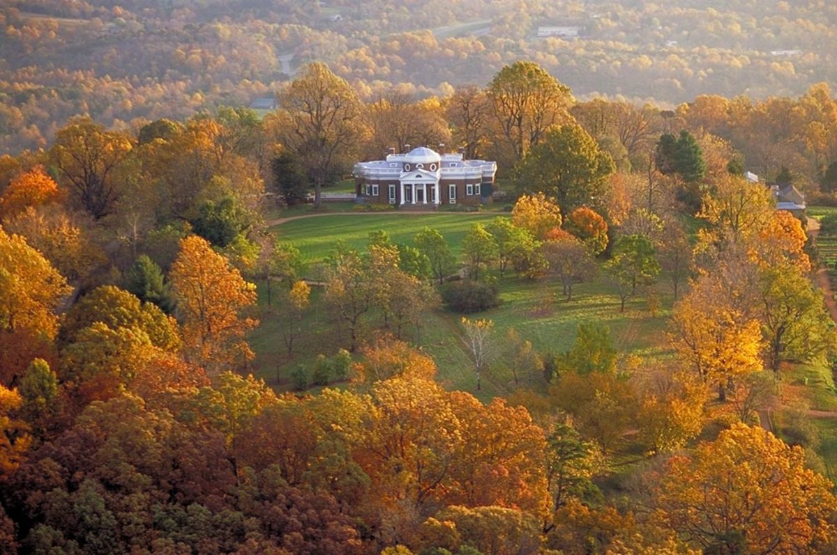 Her life with Mr. Jefferson began here, at his beloved home.