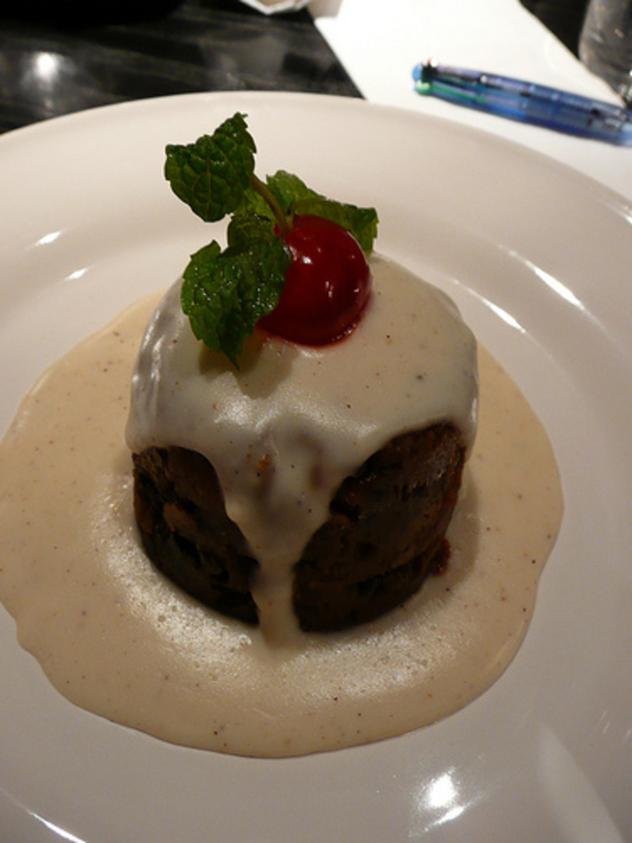 All You Can Eat Buffet Restaurants: Christmas Pudding