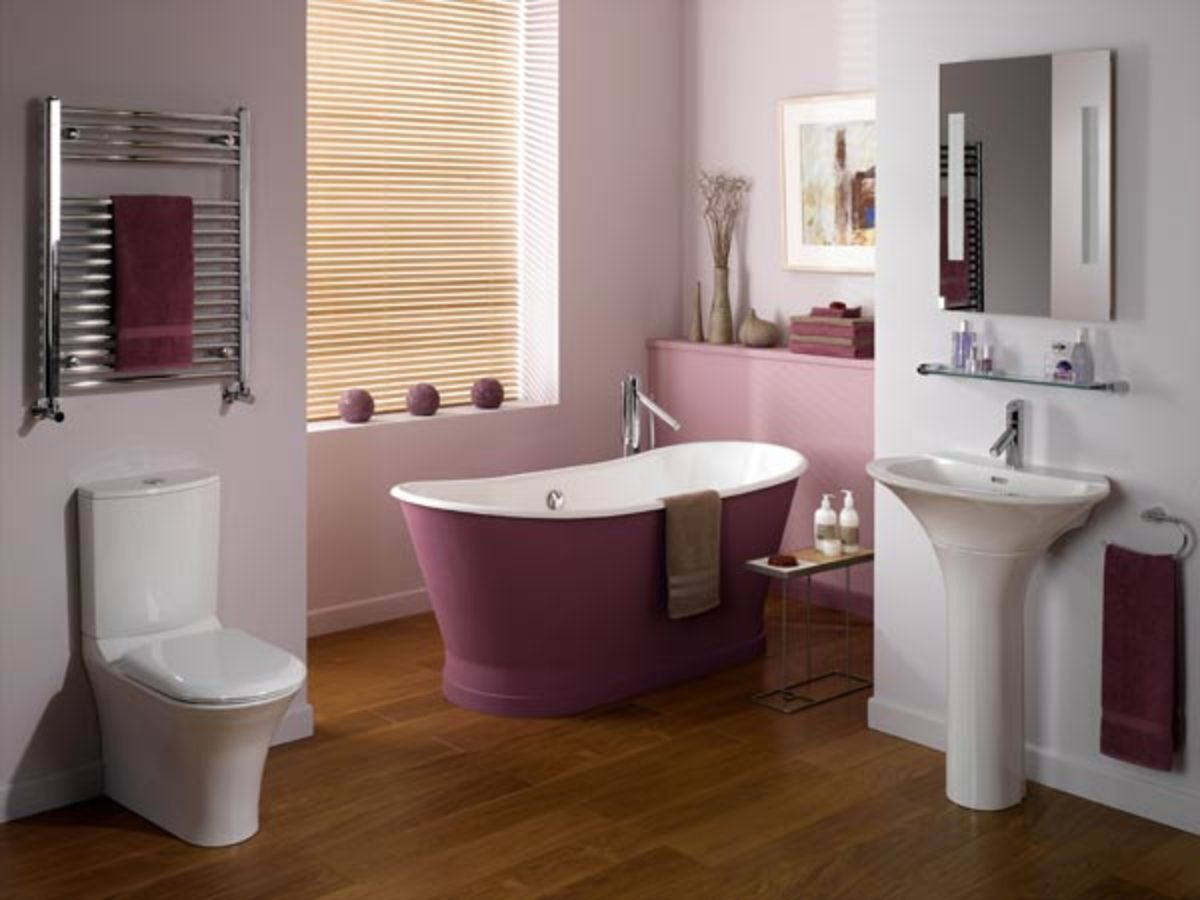 Bathroom Designs with 3D Room Planner Software