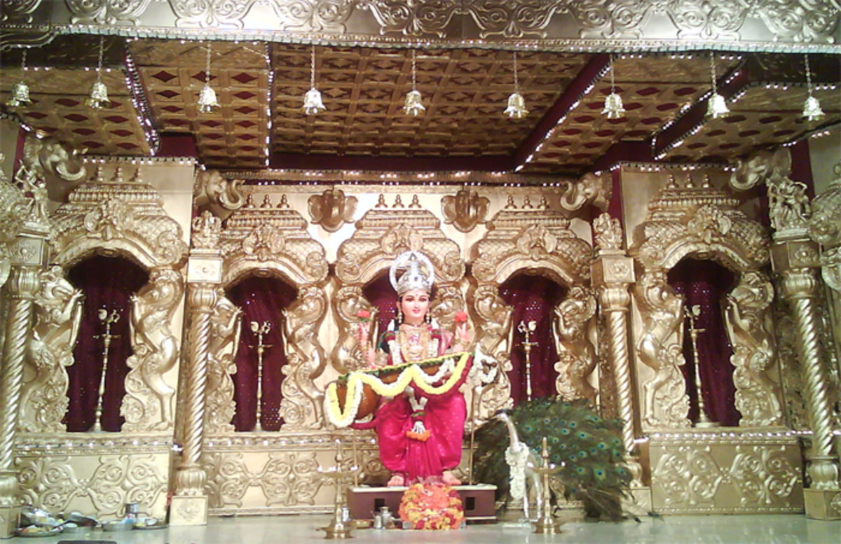 Goddess Statue on the Dais - 2014