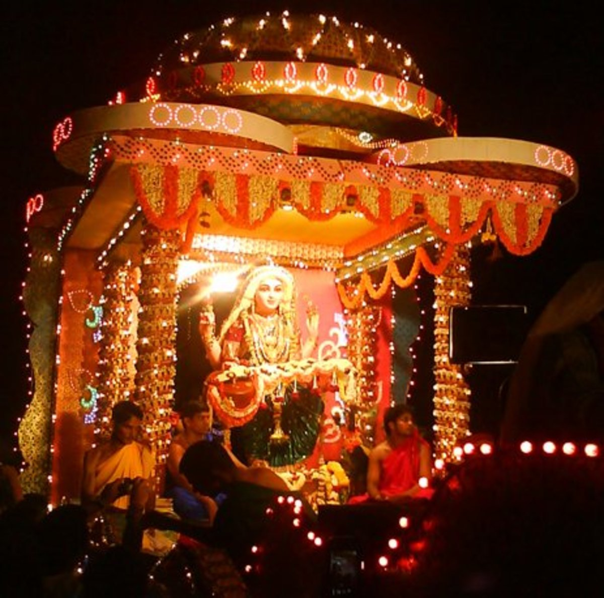 Kudroli sharada procession 2012