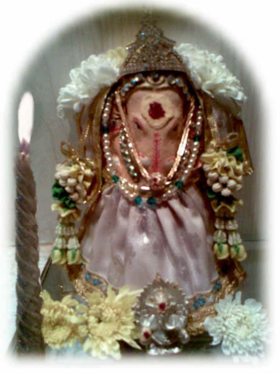 Ganapati Statue in Altar