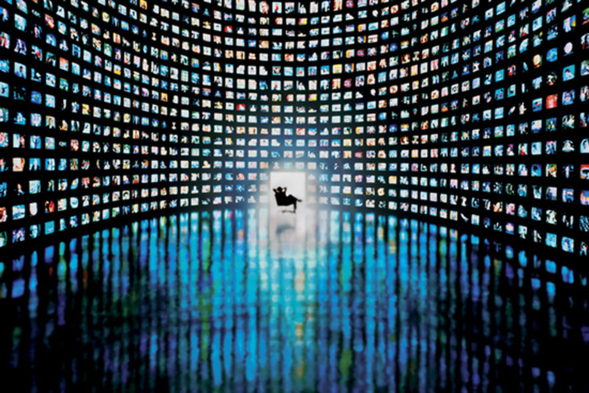 Meia dissemination and consumption patterns are as varied as the screen: i.e., the Internet and TV convergence has created an environment and concept of media as the Tower of Babble