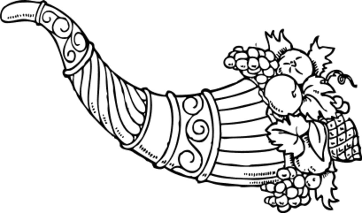 Cornucopia - A Symbol of the Harvest