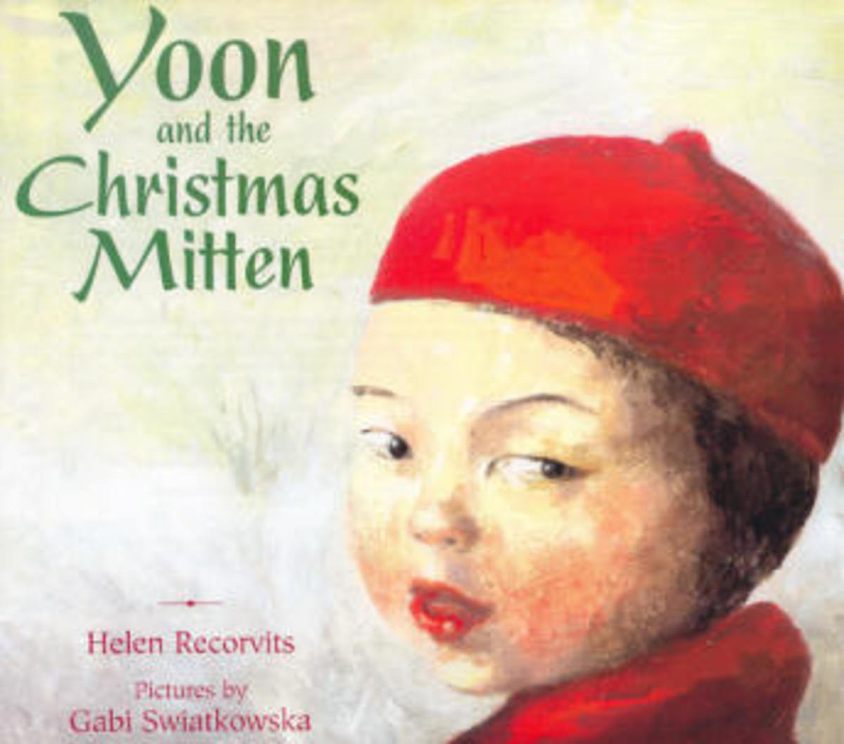 Yoon and the Christmas Mitten by Helen Recorvits is a sequal to My Name is Yoon. Another book in the Yoon series is Yoon and the Jade Bracelet.