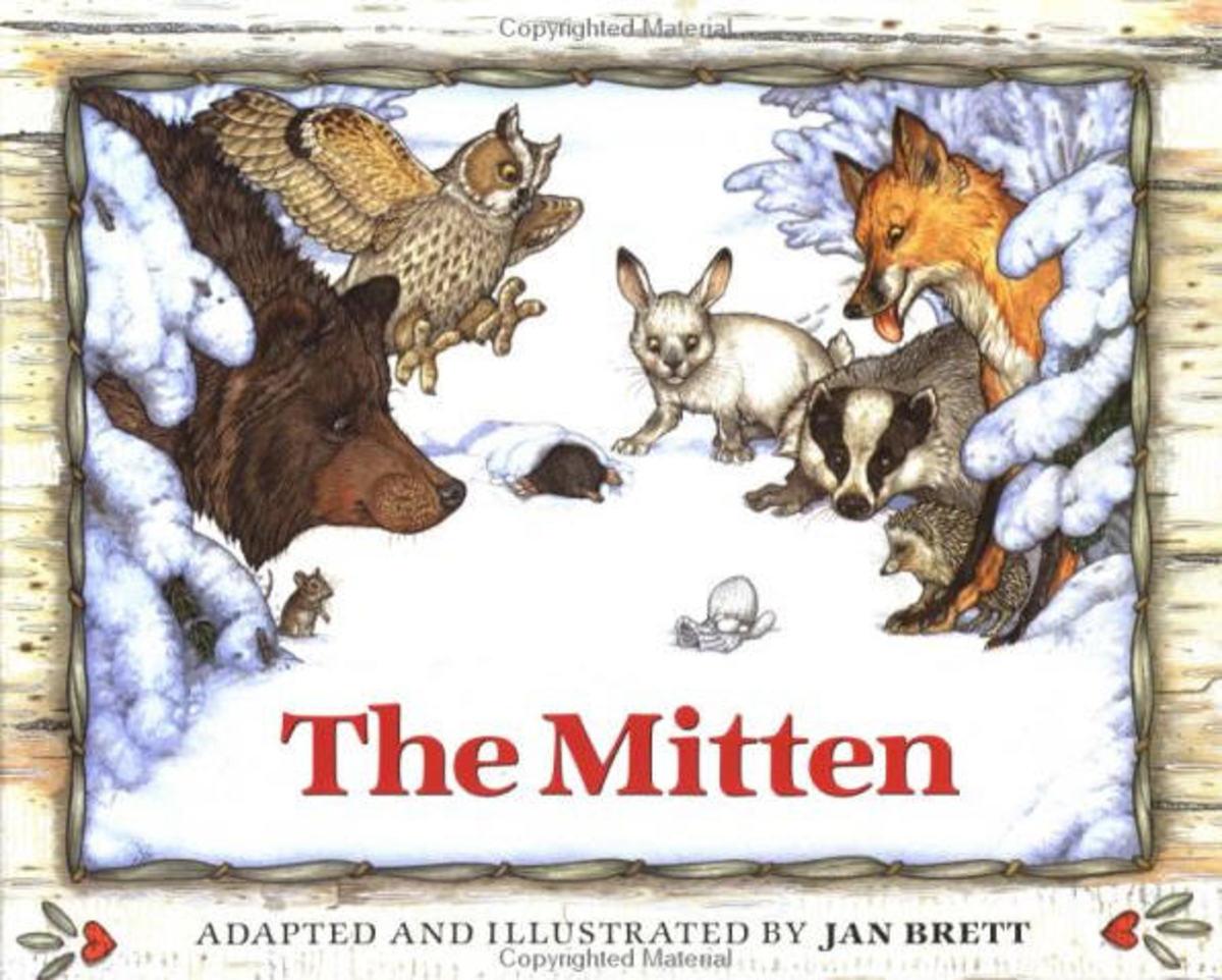 The Mitten: A Ukranian Folktale is retold by Jan Brett