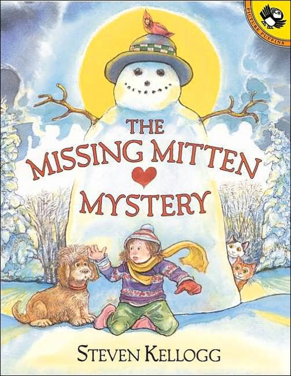 Annie needs to find the missing mitten she lost. Where will she find it? A great predictive story.