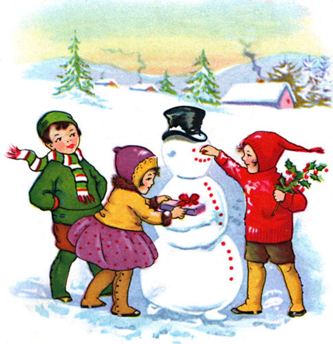 Snowman and Snow Preschool Books