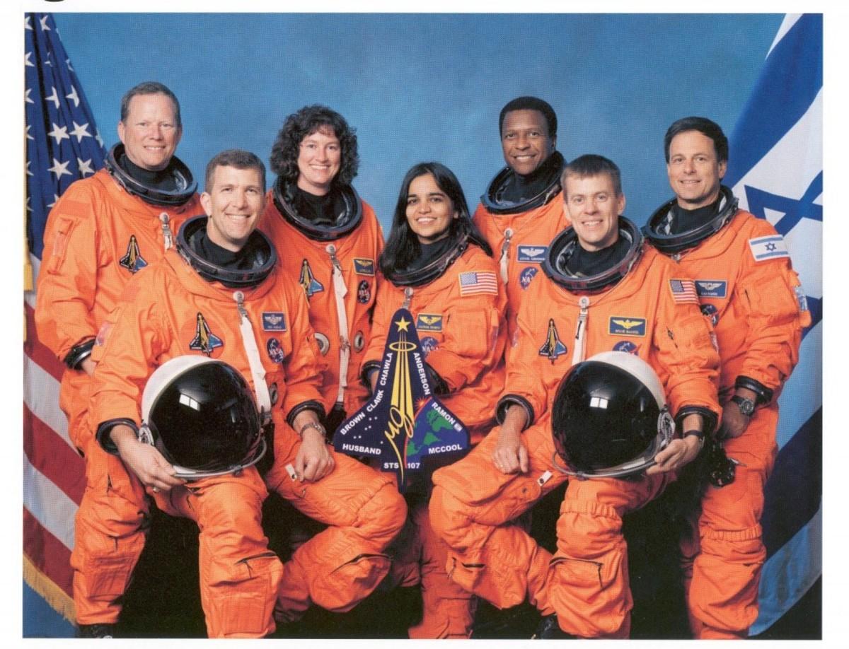 The Challenger 3 crew