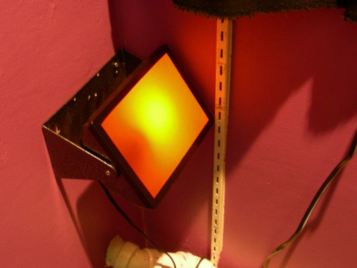 Be sure that your safelight is really safe to use