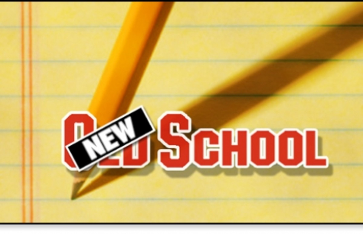 The 30 & over Project: Back to school - Old School vs. New School