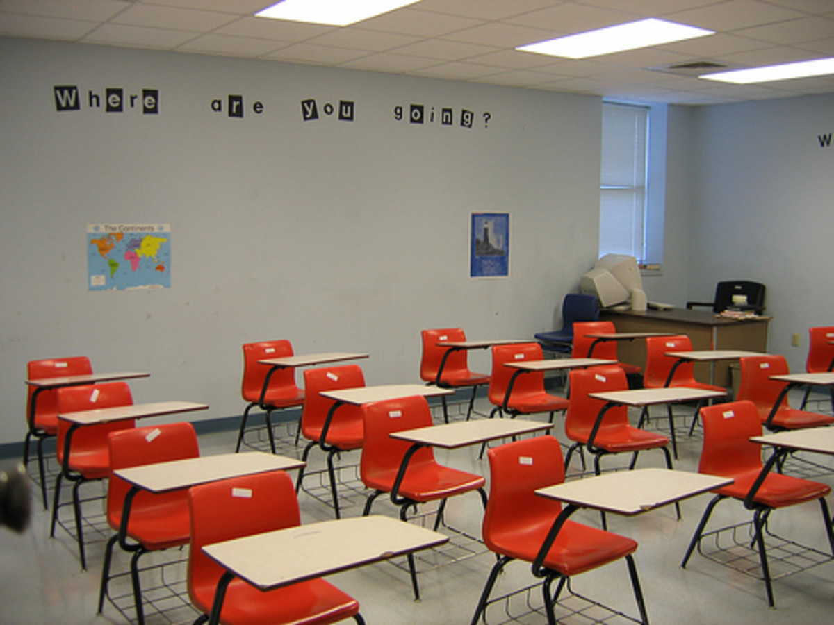 This is the regular look of a an Old classroom. Maybe these are slowly disappearing in the digital/Internet Age