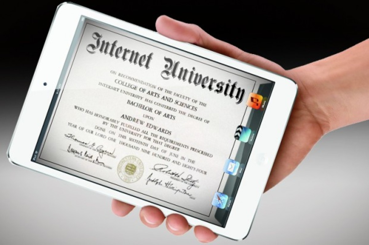 Internet Degree on the iPod