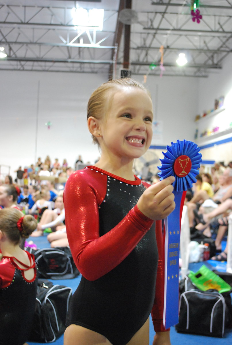 Winning is just part of the fun in competitive gymnastics