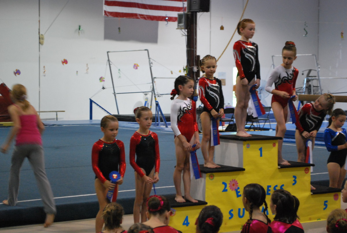 Celebrate your gymnast's success at every meet