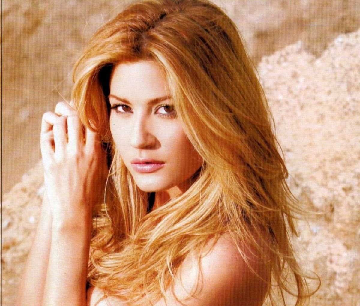 Venezuelan actress and model Mirela Mendoza