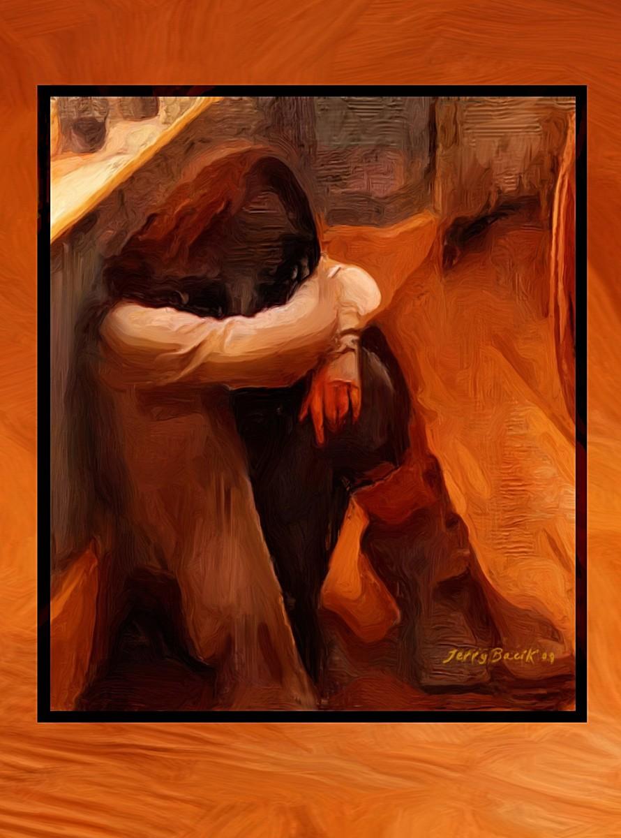 Sadness by Jerry Bacik