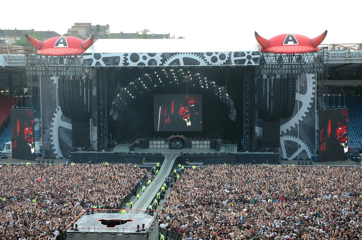 ACDC on Stage : The Black Ice Tour 2009